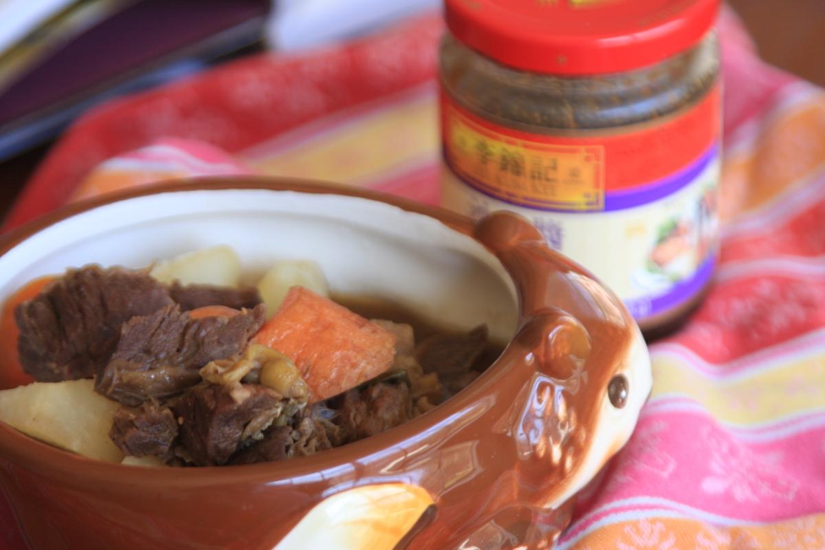 Shacha Beef Daikon stew