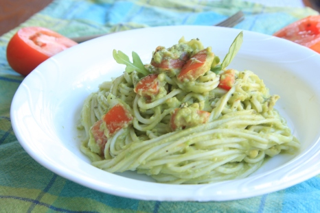 Guacamole pasta