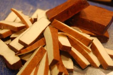 Chinese dry tofu