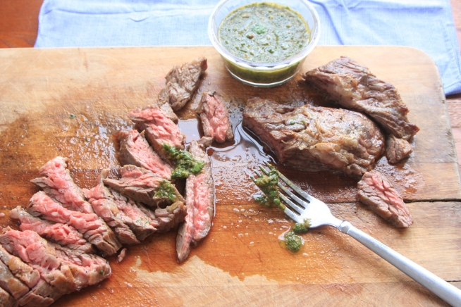skirt steak chimichurri