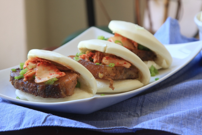 braised pork belly bun1