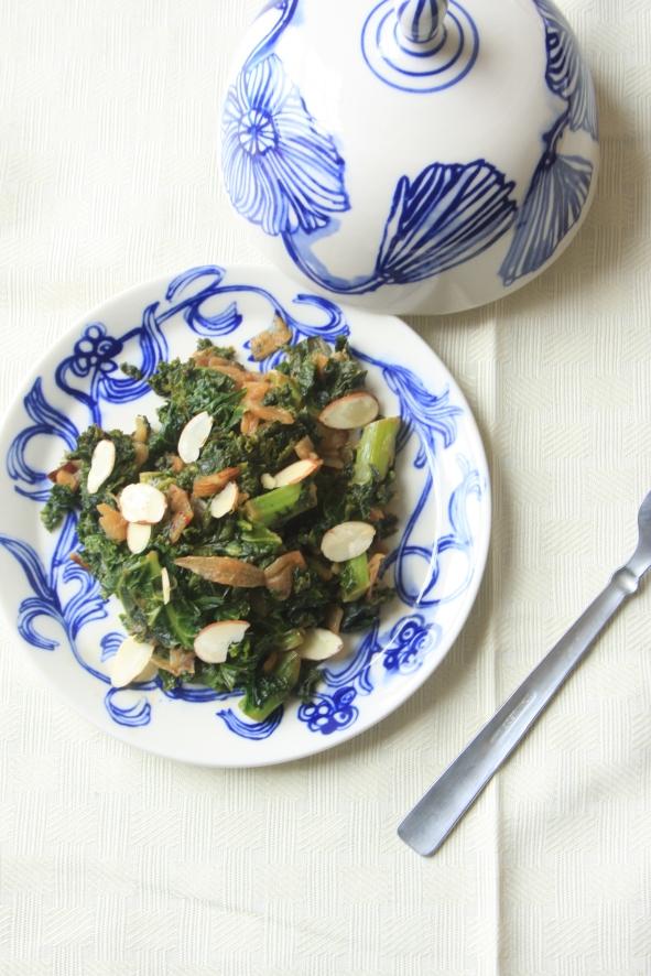 Miso soyed kale (3)