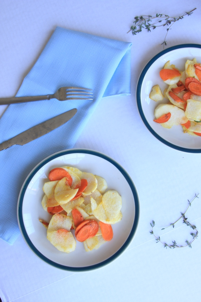 chinese yam and carrot stirfry2
