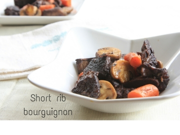 Short rib bourguignon caption